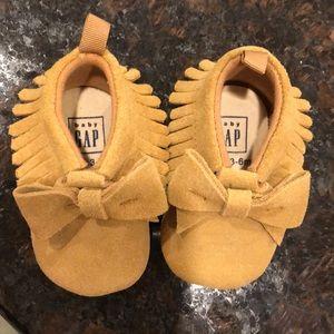 Baby Gap moccasins (like new)